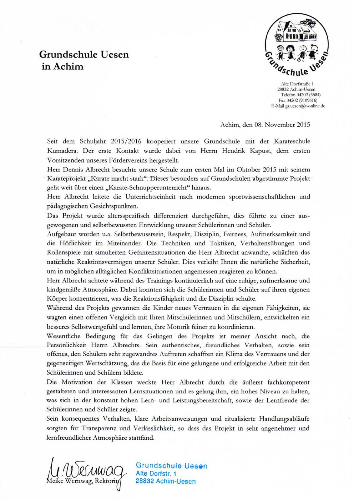 Karate Kurse für Grundschulen und Kindergärten - Karateschule ...